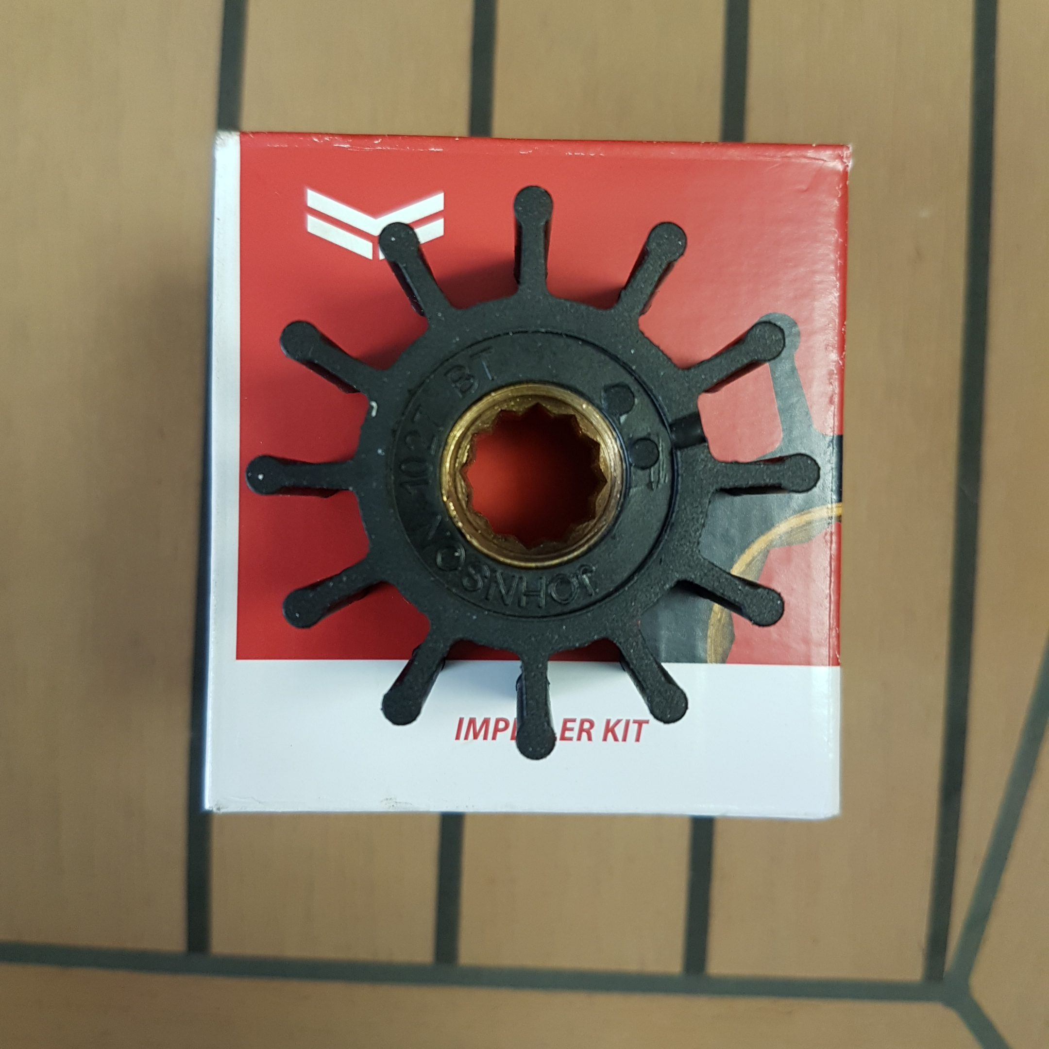 129670-42610 Yanmar 3JH and 4JH Impeller With Thread For Impeller Pullar